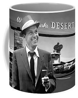 Frank Sinatra In Las Vegas Coffee Mug