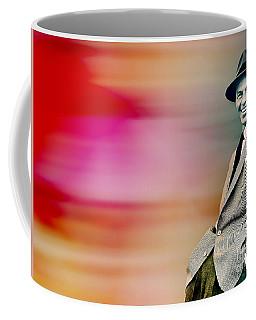 Coffee Mug featuring the digital art Frank Sinatra by Marvin Blaine