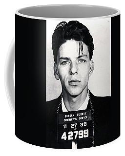 Frank Sinatra Mug Shot Vertical Coffee Mug
