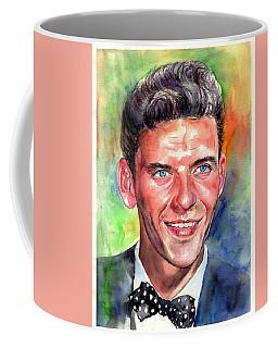 Frank Sinatra Young Watercolor Coffee Mug