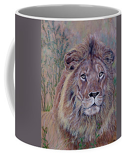 Coffee Mug featuring the painting Frank by Tom Roderick