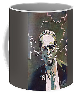 Coffee Mug featuring the painting Frankencrory by Ryan Fox