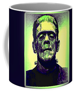 Frankenstein In Color Coffee Mug