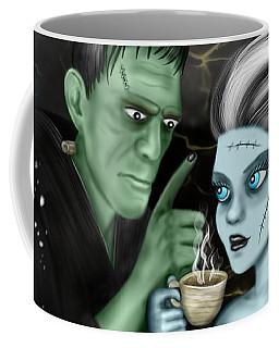 Frankenstien Fantasy Art Coffee Mug