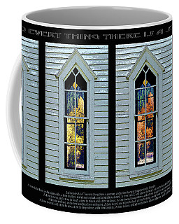 Frankford Church Window In Four Seasons Coffee Mug