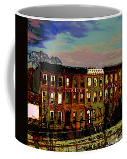 Coffee Mug featuring the photograph Franklin Ave. Bk by Iowan Stone-Flowers