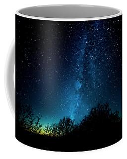 Franklin Under The Milky Way Coffee Mug