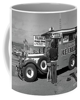 Franks Famous Franks Hot Dogs And Ice Cream Truck  1973 Coffee Mug