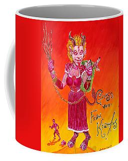 Frau Krampus Coffee Mug