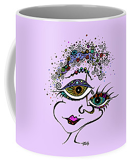 Frazzled Coffee Mug by Tanielle Childers