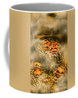Freaky Halloween Fruits Coffee Mug
