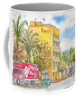 Fred Hayman Building, Cannon Dr And Clifton, Beverly Hills, Ca Coffee Mug
