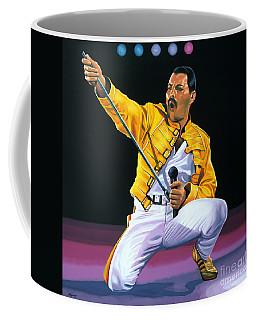 Freddie Mercury Live Coffee Mug