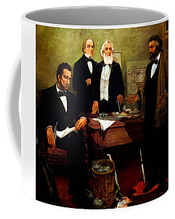 Frederick Douglass Appealing To President Lincoln Coffee Mug