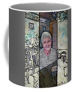 Frederick Life Starring Ruth Sentelle Coffee Mug by Ron Richard Baviello