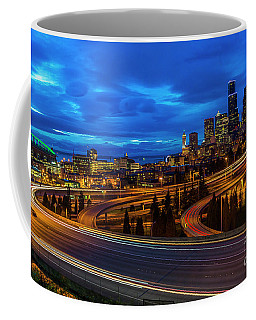 Freeway 5 North To Seattle Coffee Mug