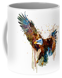 Free And Deadly Eagle Coffee Mug