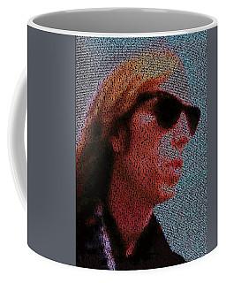 Free Fallin Lyrics Mosaic Coffee Mug