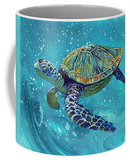 Coffee Mug featuring the painting Free Spirit by Darice Machel McGuire