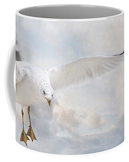 Coffee Mug featuring the photograph Free To Fly by Robin-Lee Vieira
