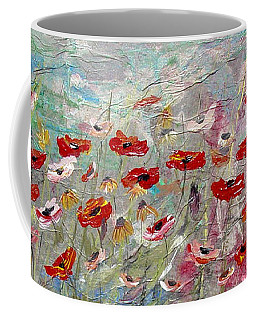 Free Wild Poppies Coffee Mug