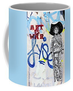 Coffee Mug featuring the photograph Freedom Fighter by Art Block Collections