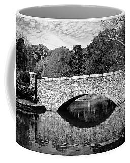Freedom Park Bridge In Black And White Coffee Mug