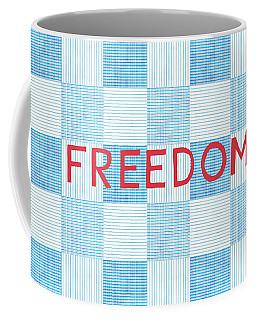 Freedom Patchwork Coffee Mug