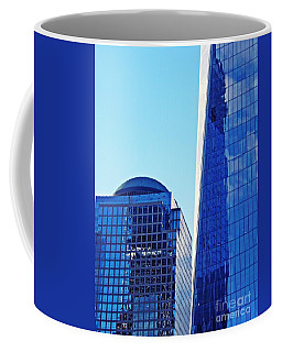 Coffee Mug featuring the photograph Freedom Tower And 2 World Financial Center by Sarah Loft