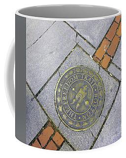 Freedom Trail Marker Coffee Mug