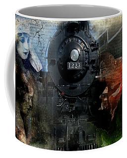 Freedom Train Four Coffee Mug by Evie Carrier