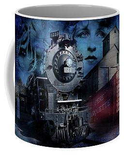 Freedom Train Three Coffee Mug by Evie Carrier