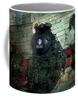 Freedom Train Two Coffee Mug by Evie Carrier