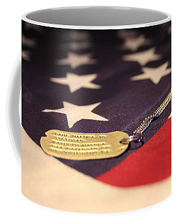 Coffee Mug featuring the photograph Freedom's Price by Laddie Halupa