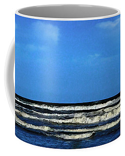 Freeport Texas Seascape Digital Painting A51517 Coffee Mug