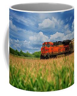 Freight Train Coffee Mug by Kelly Wade