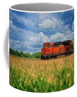 Freight Train Coffee Mug