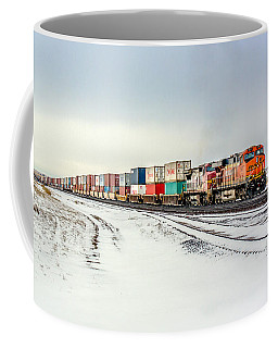 Freight Train Coffee Mug