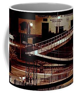 Fremantle Harbor Buildings Coffee Mug