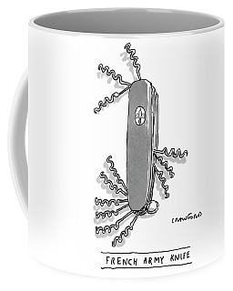 French Army Knife Coffee Mug