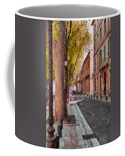 Coffee Mug featuring the photograph French Boulevard by Scott Carruthers