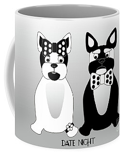 French Bulldog Date Night  Coffee Mug