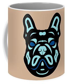 French Bulldog Francis - Dog Design - Hazelnut, Island Paradise, Lapis Blue Coffee Mug