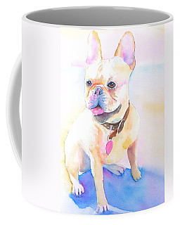 French Bulldog Watercolor Coffee Mug