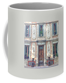 French Door Coffee Mug by Catherine Alfidi