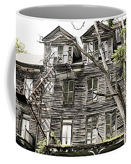French Doors And Fire Escapes Coffee Mug