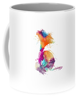 French Horn Watercolor Musical Instruments Coffee Mug