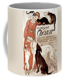Coffee Mug featuring the photograph French Veterinary Clinic by Granger
