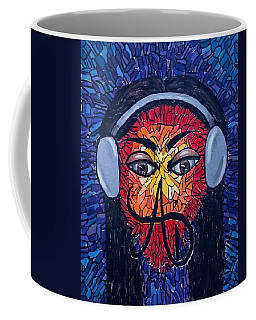 Frequencial - Abstract Art Music Painting - Ai P.nilson Coffee Mug