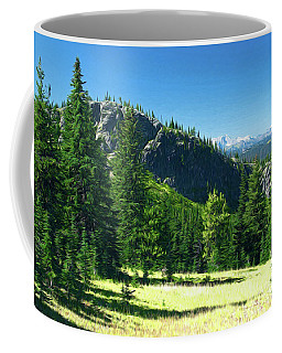Coffee Mug featuring the photograph Fresh Air In The Mountains Photo Art by Sharon Talson